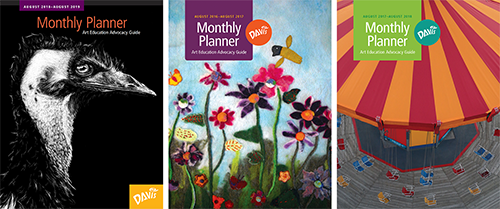 art advocacy monthly planner